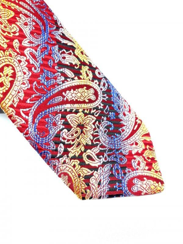 Dodatki Elegancki Krawat Piotr Kolorowy