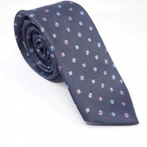Elegancki Krawat Popiel
