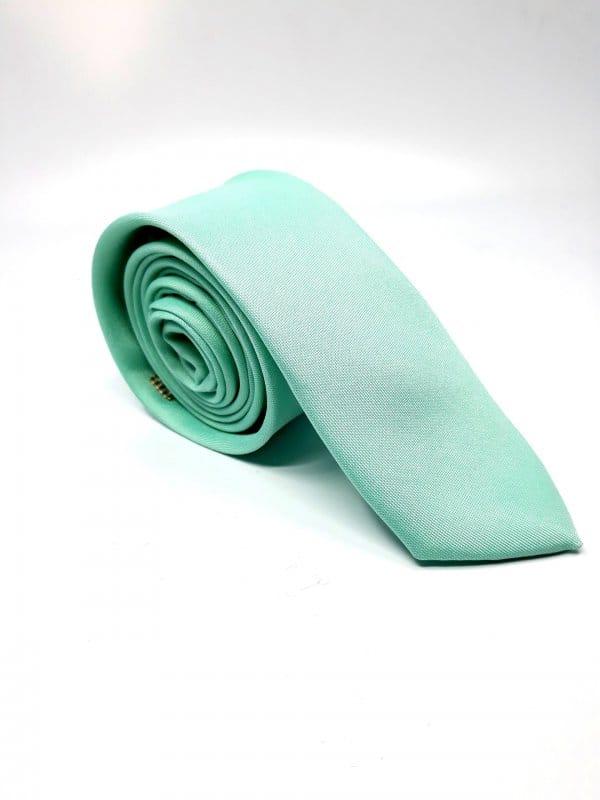 Dodatki Elegancki Krawat Miętowy – Śledzik