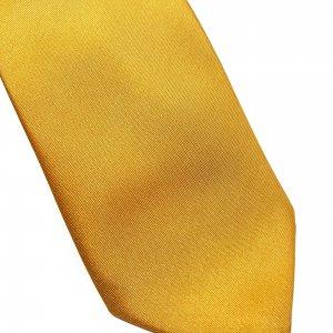 Dodatki Elegancki Krawat Złoty