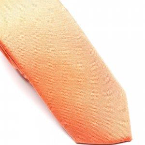 Dodatki Elegancki Krawat Brzoskwiniowy