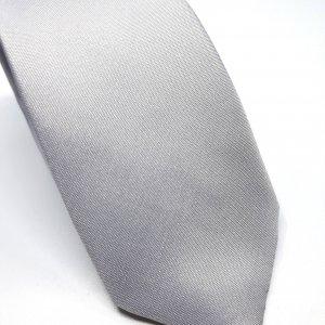 Dodatki Elegancki Krawat Jasny Popiel