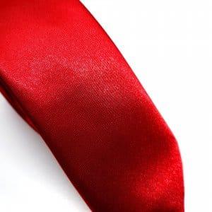 Dodatki Elegancki Krawat Czerwony