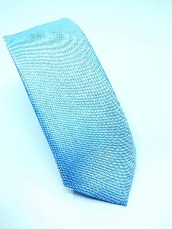 Dodatki Elegancki Krawat Błękitny