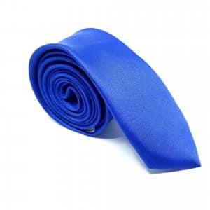Dodatki Elegancki Krawat Szafirowy