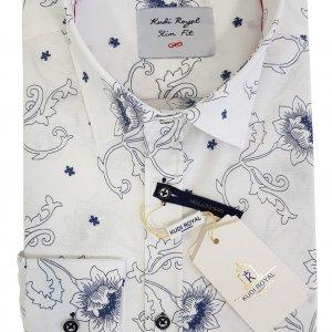 Koszule długi rękaw Koszula Royal  Kwiaty