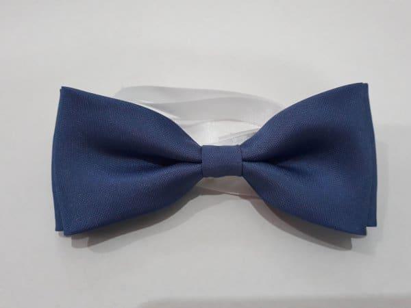 Dodatki Muszka męska-pastelowy niebieski