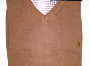 Swetr brązowy Fabian