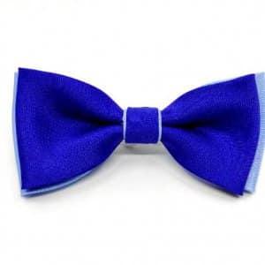 Dziecięce Muszka chlopięca szafirowo niebieska