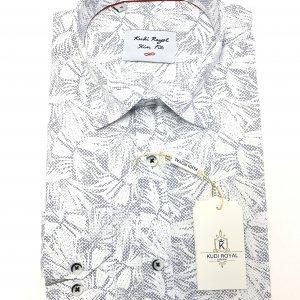 Koszule długi rękaw Koszula  Kudi  Przycierane