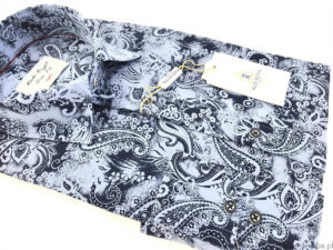 Koszula Kudi Royal Slim fit turecki wzór