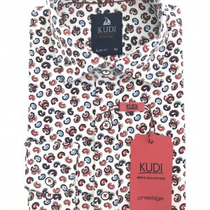 Koszula dzięcięca Kudi wzorek 2