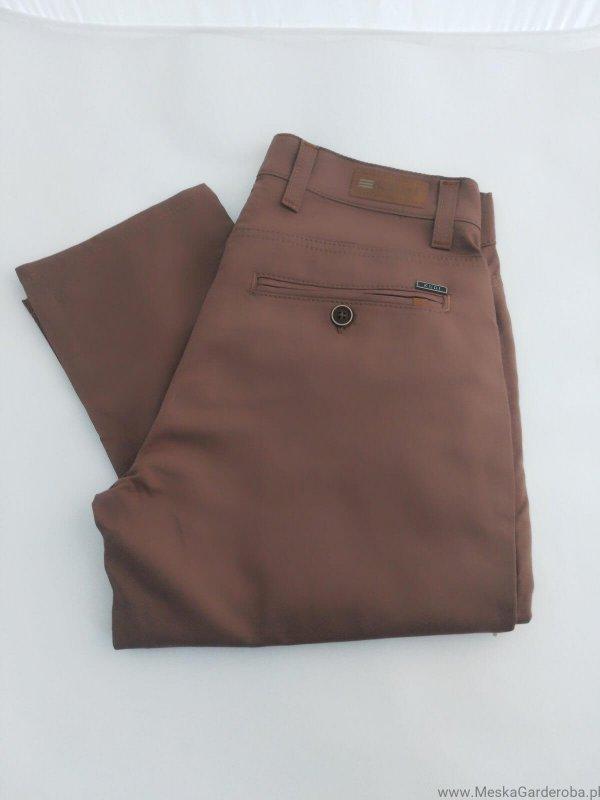 Spodnie Kudi musztardowe
