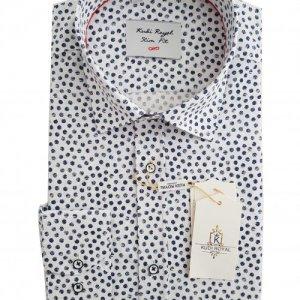 Koszule długi rękaw Koszula Kudi Royal Koła