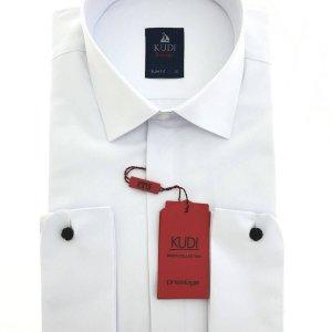 1 Koszula Kudi Slim fit ślubna