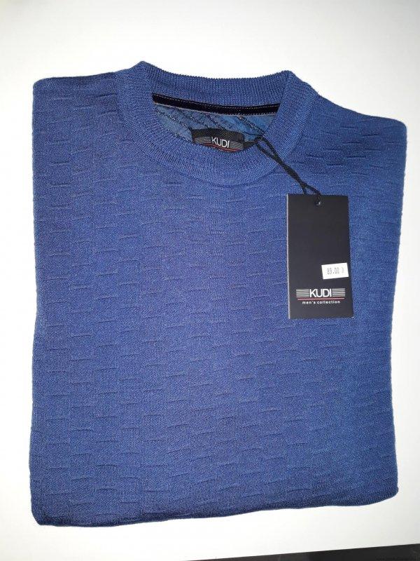 Swetr Kudi niebieski