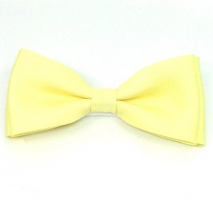 męskie Mucha męska-żółta