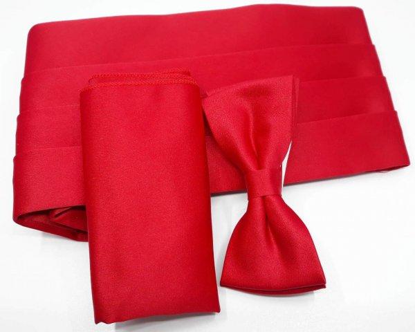 pas-smokingowy-czerwony