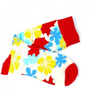 Skarpety Kwiaty Liście
