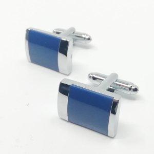 Dodatki Spinki do mankietów Niebieskie