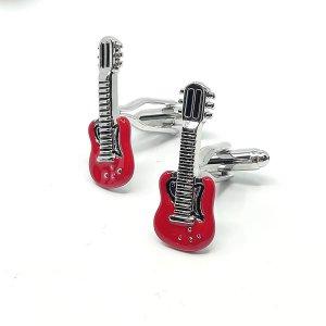 Dodatki Spinki do mankietów Gitary
