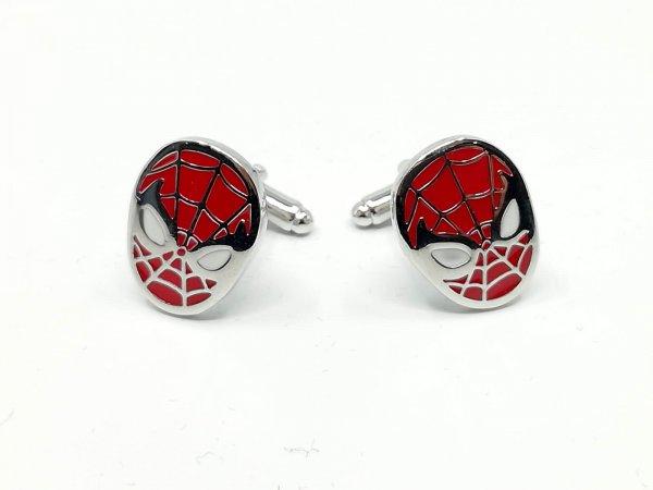Dodatki Spinki do mankietów Spiderman