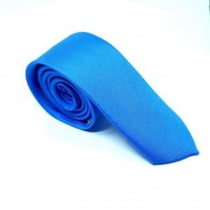 Dodatki Elegancki Krawat Niebieski – Śledzik