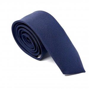 Dodatki Elegancki Krawat Granat Śledzik