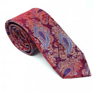 Dodatki Elegancki Krawat Kolorowy Wzór Turecki