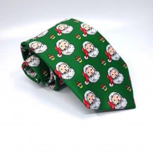 Dodatki Świąteczny Krawat Mikołaje