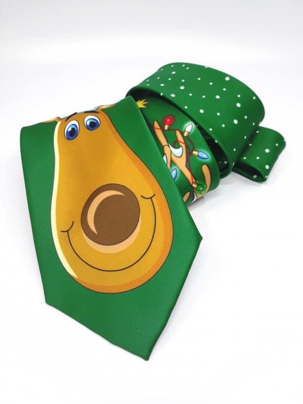 Dodatki Świąteczny Krawat Męski Renifer Gratis