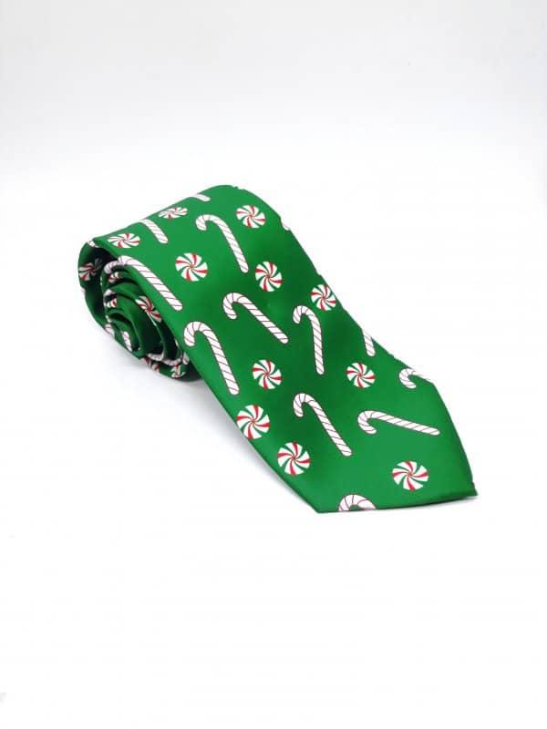 Dodatki Świąteczny Krawat Cukierki