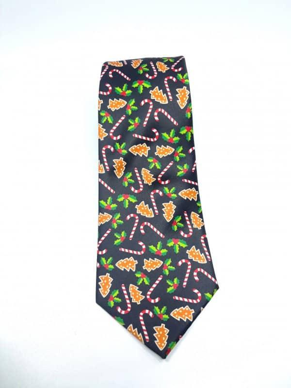 Dodatki Świąteczny Krawat Męski Pierniczki Gratis