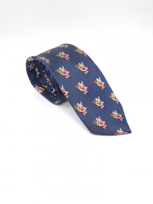Dodatki Świąteczny Krawat Mikołaj