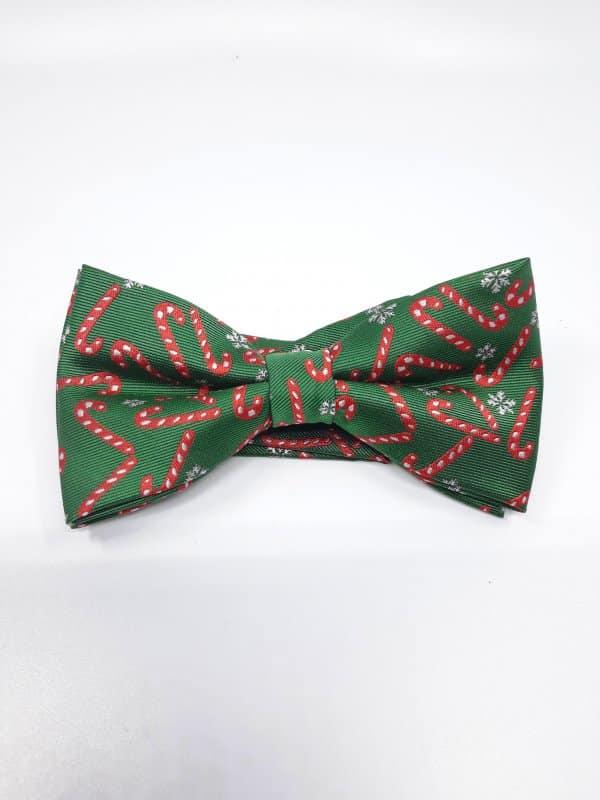 Dodatki Świąteczna Mucha Męska Laska Mikołaja