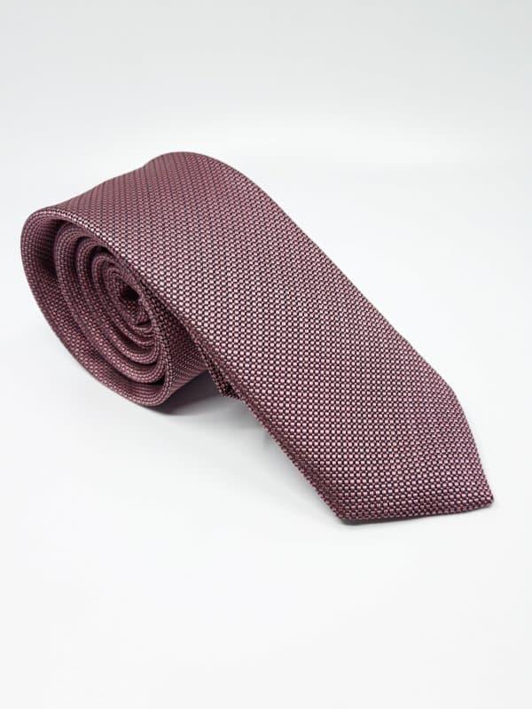 Dodatki Elegancki Krawat Piotr Brudny Różowy