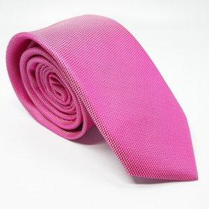 Dodatki Elegancki Krawat Różowy