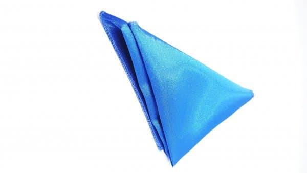 Dodatki Poszetka Niebieska Gładka