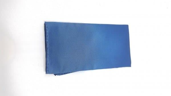 Dodatki Poszetka Gładka Niebieska