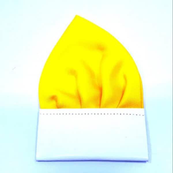 Dodatki Poszetka Gotowa Żółta
