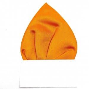 poszetka pomarańczowa