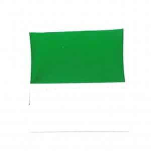 Poszetka Gotowa na Kartoniku Zielona