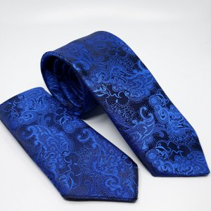 Dodatki Ślubny Krawat z Poszetką Gabriel Szafir