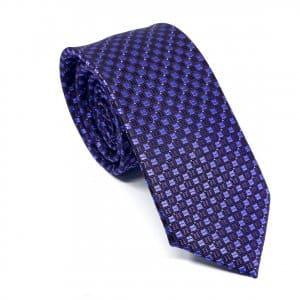 Dodatki Elegancki Krawat Fioletowo Śliwkowy