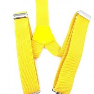 Dodatki Szelki Chłopięce żółte do 6 lat