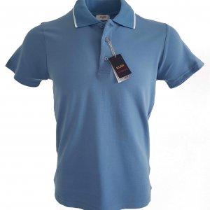 Koszulka Polo Kudi Niebieska