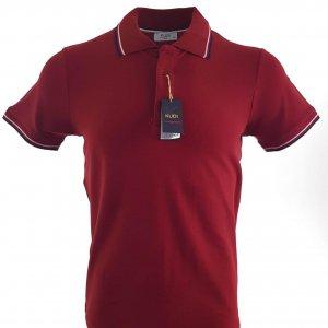 Koszulki Polo Koszulka Polo Bordowa