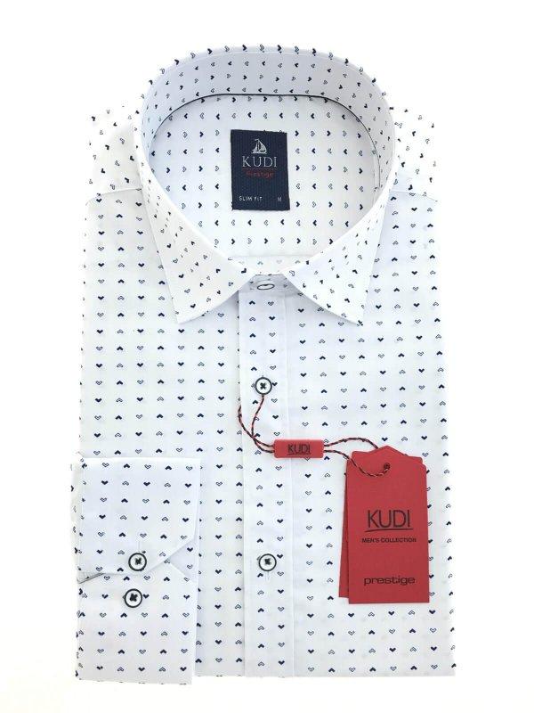 Koszule długi rękaw Koszula Kudi Wzór