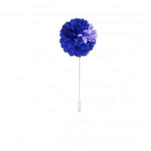 Dodatki Pin Przypinka Kwiatek Szafirowo Fioletowy