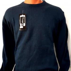 Sweter Męski Jeansowy